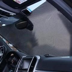 자동차 차량 앞유리 가리개 롤스크린햇빛가리개 2개