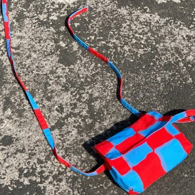 MARY BELT BAG (BLUE&RED)