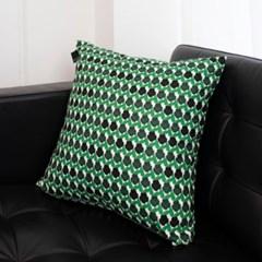 PANSY (Green) 비비드 클래식 쿠션 50x50_(1422404)