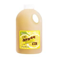 [냉장]흥국 레몬 농축액 플러스 1.5L