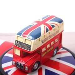 마블 빈티지 영국 2층버스 저금통 인테리어 소품