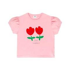 [마미버드] 튤립 티셔츠 (2color)