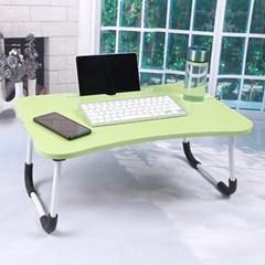 엔조이 접이식 좌식 책상 A-3(그린) 태블릿거치대 공부상