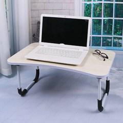 엔조이 접이식 좌식 책상 A-1(라이트우드) 미니 공부책상