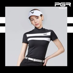 PGR GT-4274 여성골프 반목 반팔티셔츠