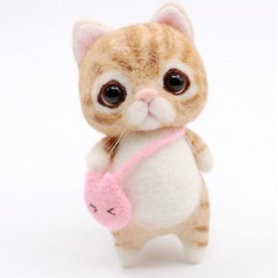 블루링 고양이 양모펠트 DIY 세트