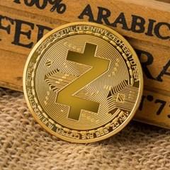 지캐시코인 데코 장식주화 가상암호화폐 ZCash coin