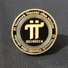 파이코인 데코 기념 장식 주화 가상암호화폐 PI coin