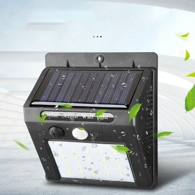 태양광 솔라 똑똑한 센서등 LED 벽등 정원등 현관등