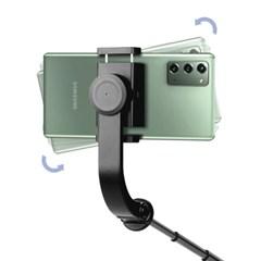 블루투스 셀카봉 스마트폰 짐벌 4단 길이조절 삼각대 셀피스틱