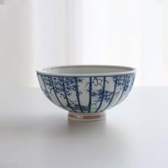 대나무숲 굽 볼 밥공기 혼밥 일본그릇 대접