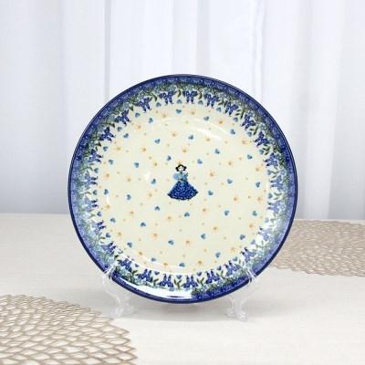 폴란드그릇 아티스티나 원형접시25cm 대접시 패턴2290