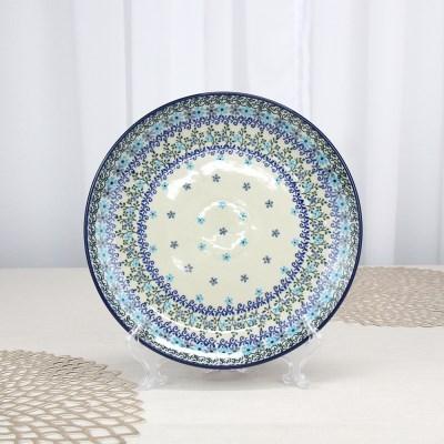 폴란드그릇 아티스티나 원형접시25cm 대접시 패턴2250