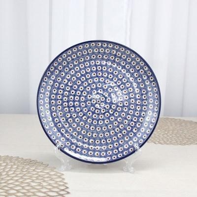 폴란드그릇 아티스티나 원형접시25cm 대접시 패턴55