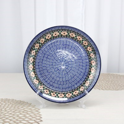 폴란드그릇 아티스티나 원형접시25cm 대접시 패턴1214
