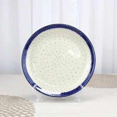 폴란드그릇 아티스티나 원형접시25cm 대접시 패턴61c