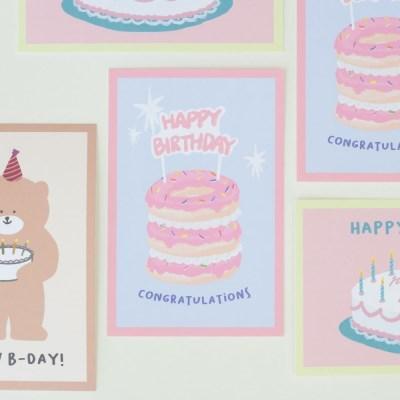 모모팝 모모카드 생일 카드 엽서_(2028861)