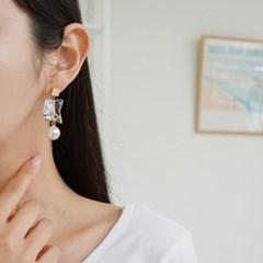 호마이카 진주 드롭 데일리 패션 E1170 귀걸이