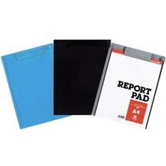 오피스존 SJ 클립보드 PVC 칼라 A4 플라스틱 서류철 판 클립