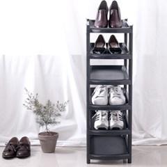 아도라하우스 슬림 신발정리대 6단 블랙