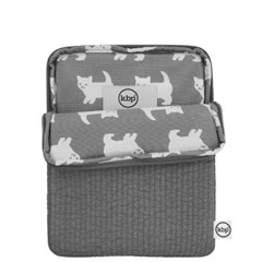 Quilting Happy Kitty Tablet PC Pouch