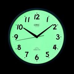 오리엔트 OWC시계 OTM915LB 루미너스 야광문자판 인테리어벽시계