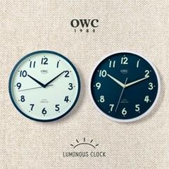 오리엔트 OWC시계 OTM915 루미너스 야광 인테리어벽시계 2종 택1