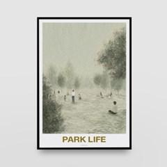 일러스트 포스터 / 인테리어 액자_park life 02