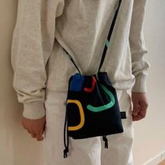 Sentimental string cross bag