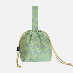 wild flower string bag