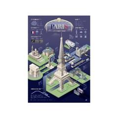 인포그래픽 포스터 - 파리