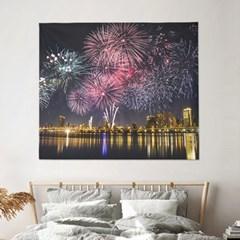 패브릭포스터 아트 포스터 150x130 페스티벌스카이
