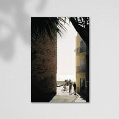 마치스가든 A2 유럽 스페인 빈티지 포스터 [Sitges alley]