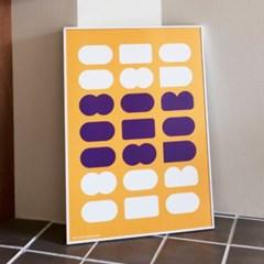 포스터 BE MY TOAST_YELLOW, 30x40/50x70_(1423313)