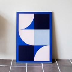 포스터 STAY AROUND_BLUE, 30x40/50x70_(1423309)