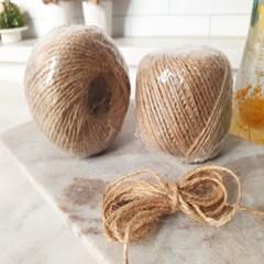공예 재료 선물 포장 빈티지 황마 노끈 DIY 용품 사진 데코