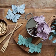 파스텔 실리콘 나비 냄비손잡이 2p set 3color