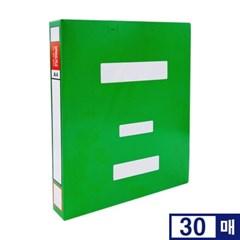 오피스존 OEM 녹색 청스프링 화일 A4 30개입 장식포함 문서화일