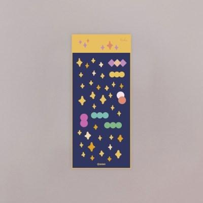 반짝반짝 홀로그램 스티커