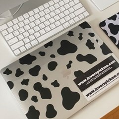 빅사이즈 젖소무늬 스티커