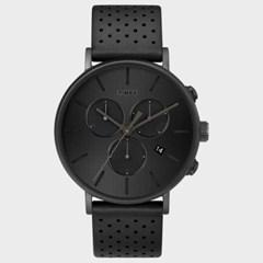 [TIMEX] 타이맥스 TW2R79800 남성 가죽 손목시계