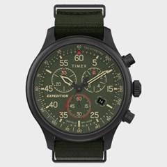 [TIMEX] 타이맥스 TW2T72800 남성 패브릭 손목시계