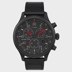 [TIMEX] 타이맥스 TW2T73000 남성 가죽 손목시계