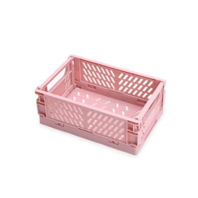 파스텔 소품수납 폴딩 박스 소