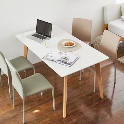 [상도가구] 리즈 세라믹식탁 2인 4인 6인 테이블 단품 1200/1500/180