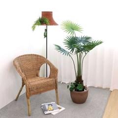 고급 인테리어 인조나무 조화화분 비로 야자 140cm