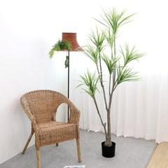 고급 인조나무 조화화분 드라세나 와네키 180cm