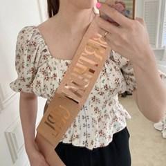 Rose Gold Birthday Shoulder Ribbon 골드어깨띠