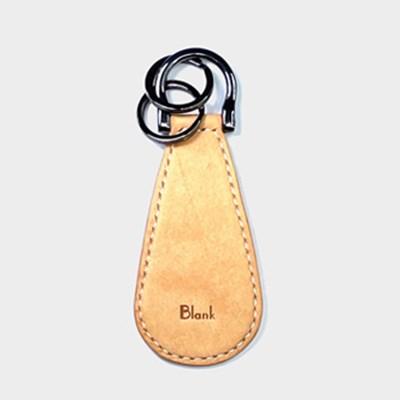 이태리 최고급가죽 슈혼키링 Natural (무료각인) [Pueblo Leather]