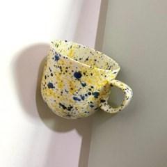 pang pang mug cup(blue&yellow)
